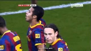 Real Sociedad 2-1 Barcelona - Thiago's goal
