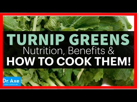 Turnip Greens Nutrition, Benefits & How to Cook Them!