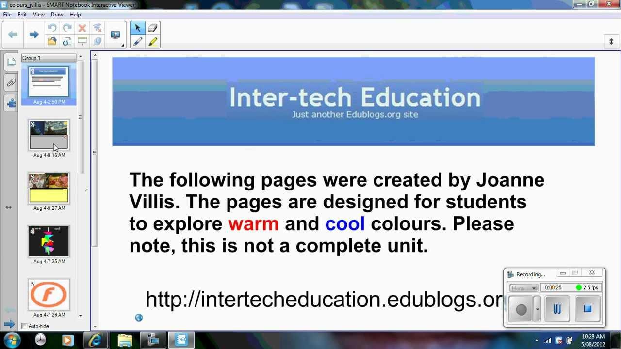 smart notebook interactive viewer software for mac