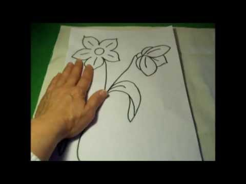 Worksheet. Curso de bordado bsico 3 Dibujar plantillas para bordar  YouTube
