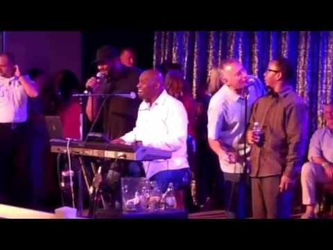 Jerome Bettis singing Karaoke at 2015 American Century golf event