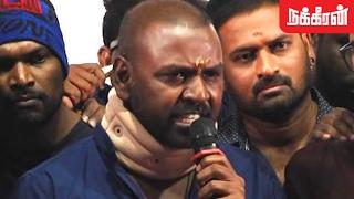 Raghava Lawrence Angry Speech | Marina protesters