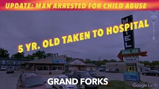 UPDATE: Suicidal Man Arrested On Child Abuse Charge In Grand Forks
