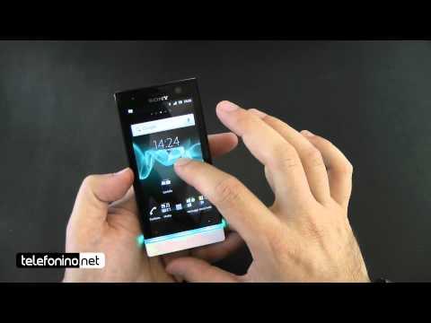 Sony Xperia U videoreview da Telefonino.net