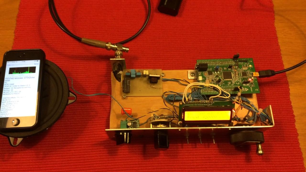 Dual contra-wound coil ferrite Antenna  Navtex receiving demo