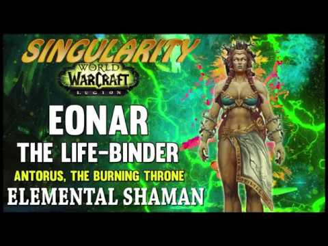 Singularity vs Eonar the Life-Binder Mythic (Elemental Shaman)