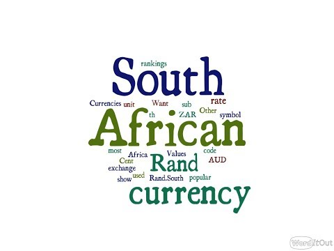 South African Currency - Rand