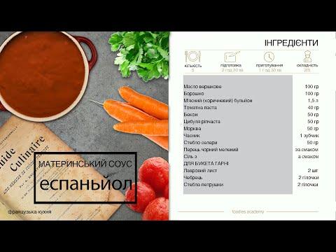 Вопрос: Как приготовить соус эспаньоль?