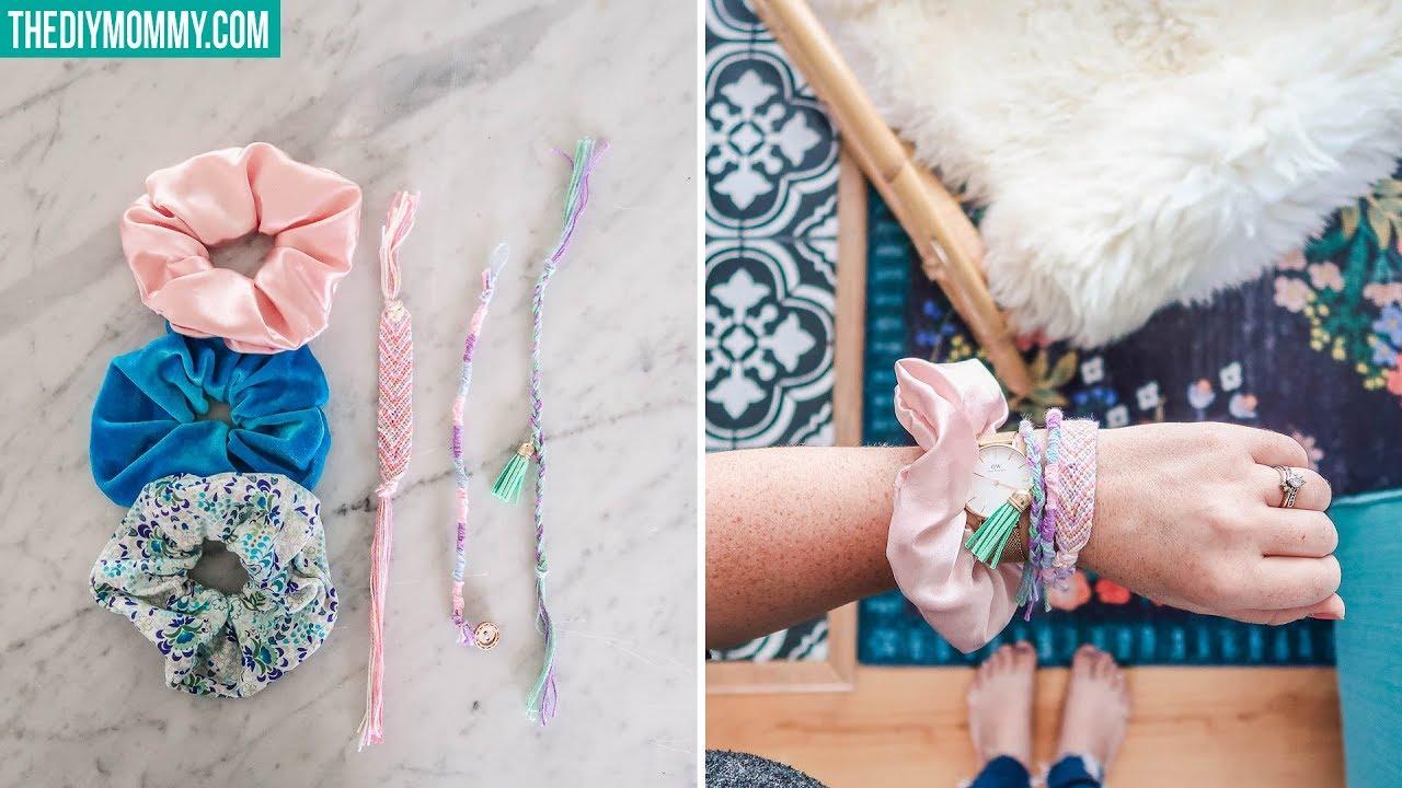 DIY Friendship Bracelets & Scrunchies ️ VSCO Aesthetic ...