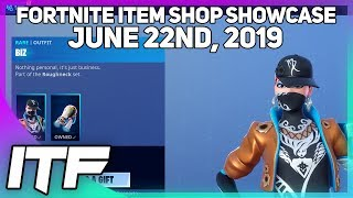 Fortnite Item Shop 'NEW' BIZ SKIN SET! [22 juin 2019] (Fortnite Battle Royale)