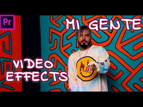 Video J. Balvin, Willy William - Mi Gente | Efecto De Caricatura | Premiere Pro CC 2017 | Tutorial