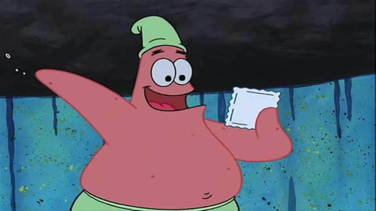 embarrassed spongebob - photo #9