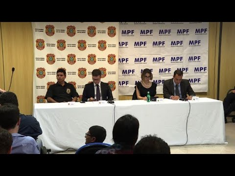 Prosecutors in press conference after Nuzman arrest in Rio