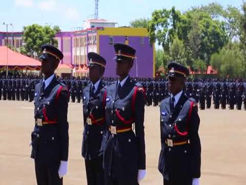 Kenya Police Service Recruits Passing out Parade March 2018 Complete