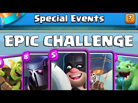 CLASH ROYALE EPIC CHALLENGE | New Special Event