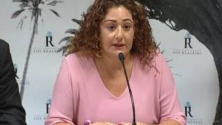 Presentación de la campaña contra los excrementos en la vía pública de Los Realejos