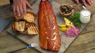 Maple-Cured Smoked King Salmon - Steven Raichlen's Project Smoke