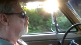 Driving 1965 Corvette