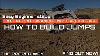 كيفية بناء يقفز للمبتدئين | MX | SX | BMX | AX | أسفل | Pro تتبع منشئ