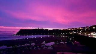 ¿Por qué el cielo a veces se vuelve púrpura?