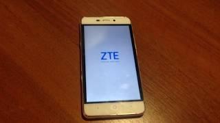 zTE blade X3 гугл аккаунт,  разблокировка, графического ключа,  FRP bypass Google account