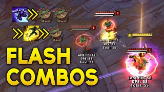 20 FLASH COMBOS to ABUSE for kills and look awesome with (League of Legends)