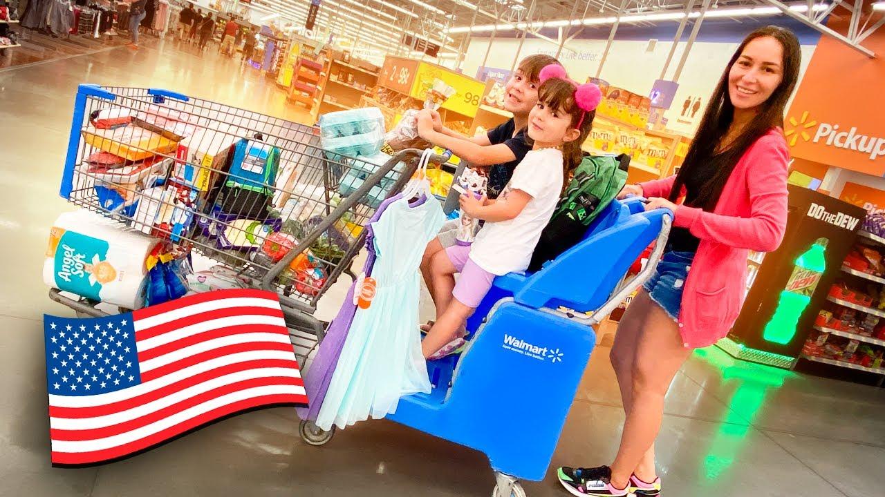 COMPRAS NO SUPERMERCADO DE ORLANDO COM MARCOS E LAURA - Família Brancoala nos EUA