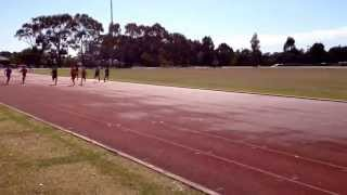 regional pssa 100 metres heat 2014