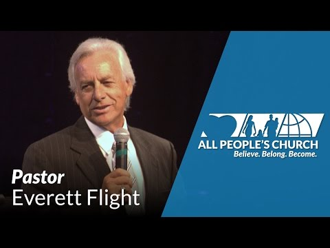 Special Guest Speaker: Pastor Everett Flight