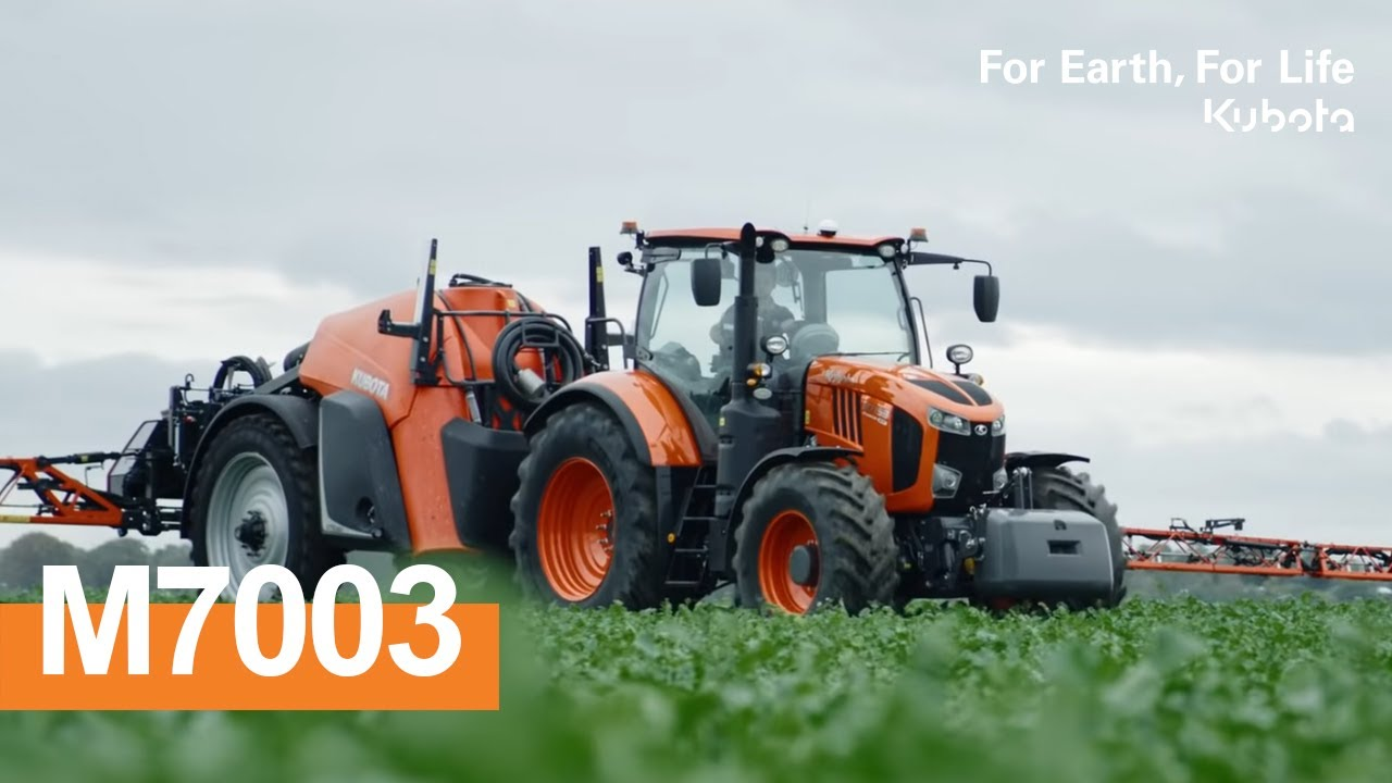 Kubota   The powerful professionnal: M7003 agricultural tractor!   2020