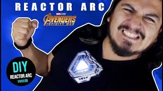 Reactor ARC Iron man mark 50 Infinity War - DIY - Hazlo tu mismo !!!