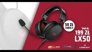 Konkurs Lioncast   do wygrania słuchawki LX50