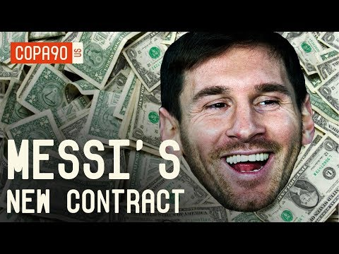 Messi's New Barcelona Contract Will Blow Your Mind