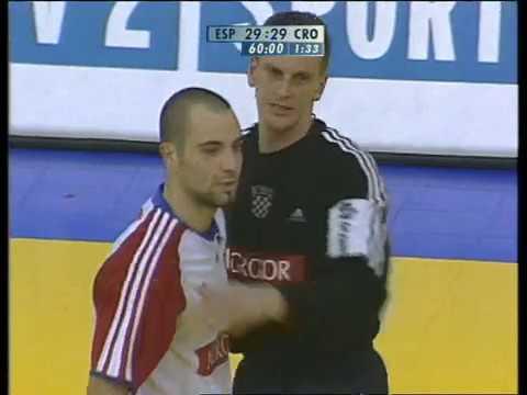 Ivano Balić goal in the last second vs Spain 2004.