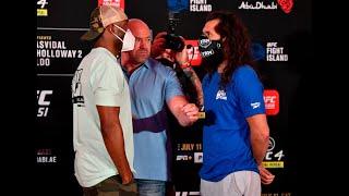 UFC 251: Careos Pesaje Oficial