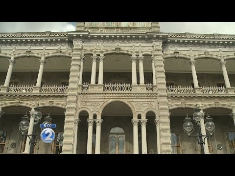 "Palace officials; damage to Iolani Palace ""senseless"""