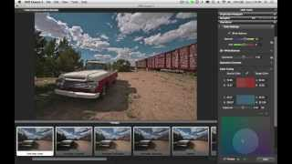 Adjusting The Color Settings In HDR Expose 3 & 32 Float v3