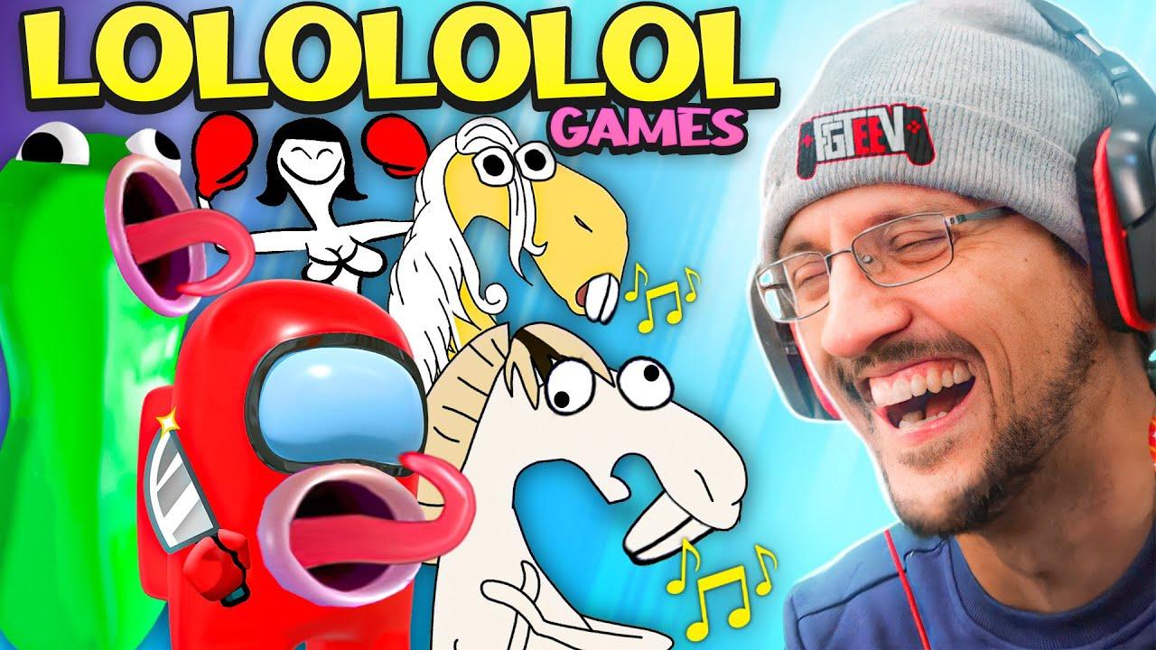 These GAMES had me Laughing Hard!! ? Singing Blobs & Random LOL Mini-Games (FGTeeV gets Weird Ag