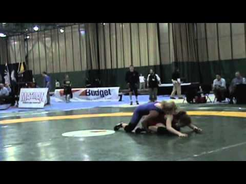 2009 Junior National Championships: 59 kg Kellie Heney vs. Liz Sera