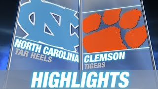 North Carolina vs Clemson | 2014-15 ACC Men's Basketball Highlights