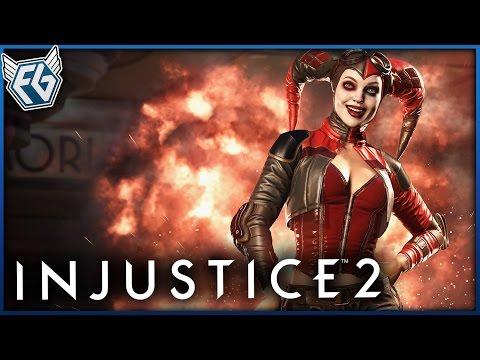 Český GamePlay | Injustice 2 - Harley Quinn a Shrek
