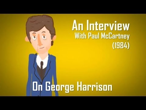 Paul McCartney on George Harrison (Radio.com Minimation)