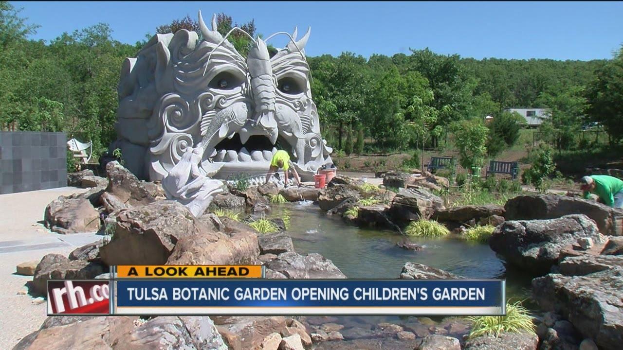 Charmant Tulsa Botanic Garden Opening Childrenu0027s Garden