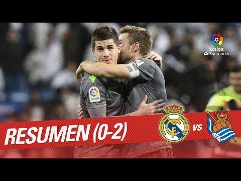 Resumen De Real Madrid Vs Real Sociedad (0-2)
