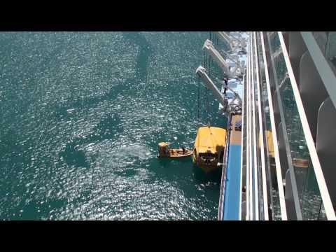 Quantum of the Seas: Lifeboat Testing