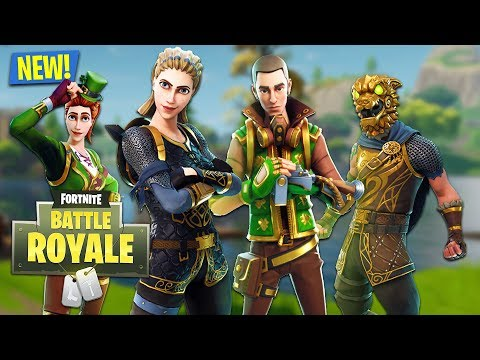 NEW UPDATE!! *LUCK OF THE IRISH* (Fortnite Battle Royale)