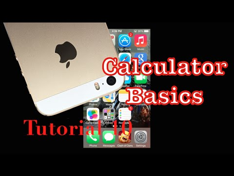 How to use the Calculator on your iPhone 5s | Tutorial 10
