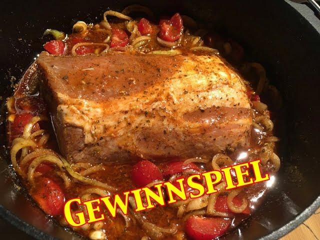 ALIEN-BBQ: Marinierter Schweinerücken mit Dutch Oven Gewinnspiel - Outdoor Cooking