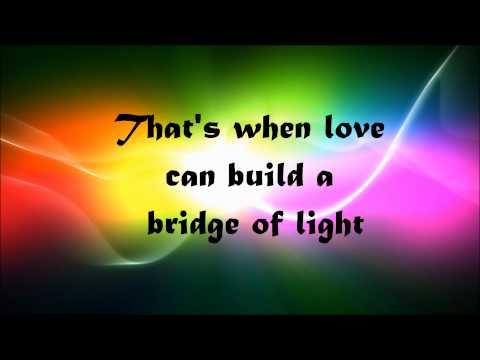 Pink- Bridge of light (lyrics on screen)