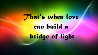 Pink- Bridge of light (lyrics on screen)